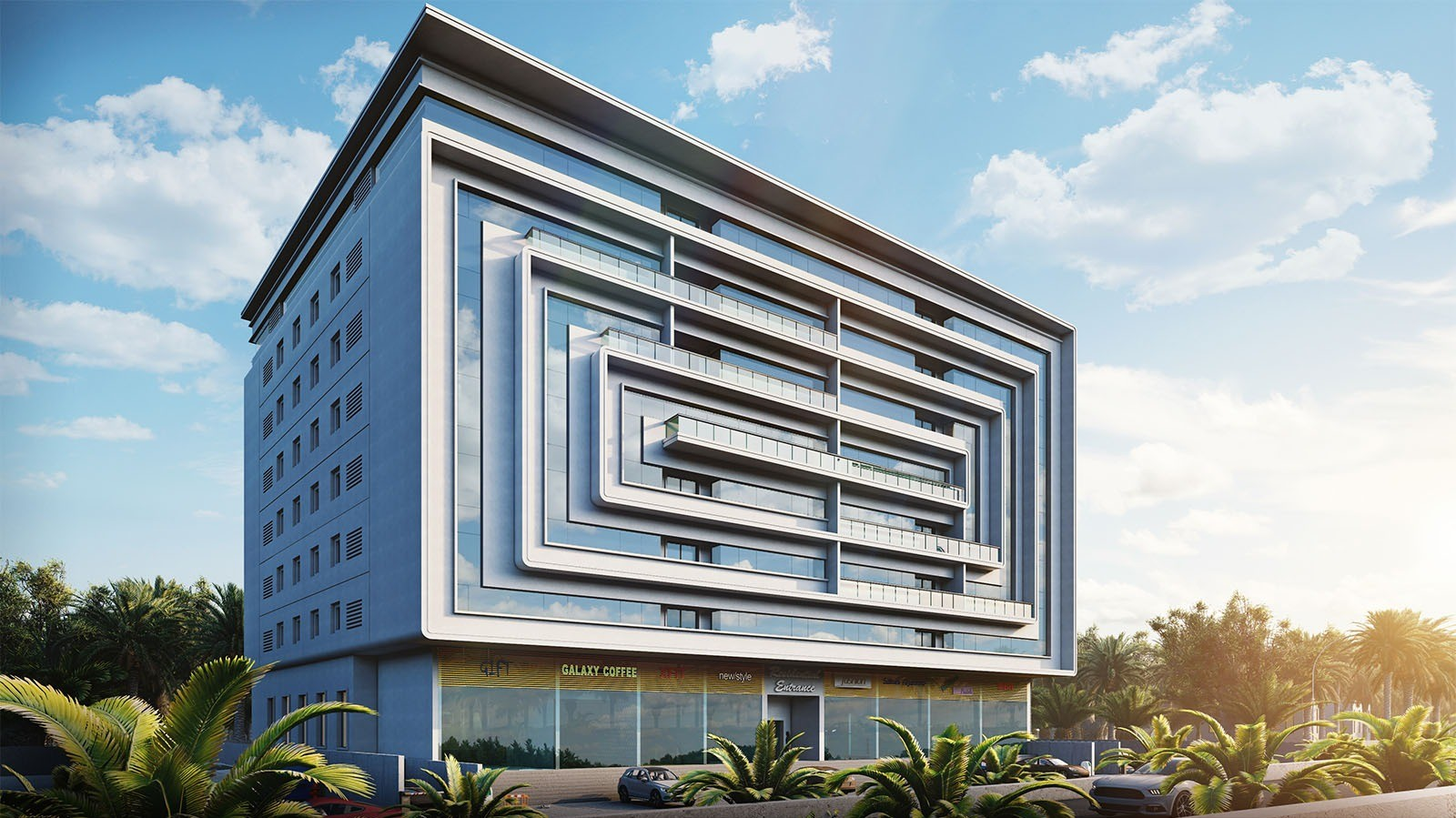 """Takween and Tibiaan Properties launch """"Al Hail Views"""" Containing more than 90 residential & commercial units"""